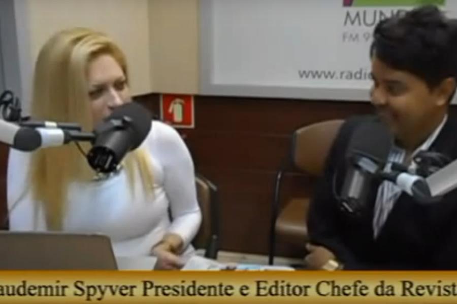 Claudemir Spyver Entrevistado no Programa Alto Impacto com Cristiane Bortolossi