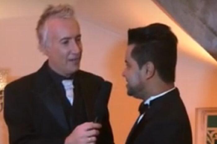 Claudemir Spyver é Entrevistado pelo Apresentador Marcelo no Premio Homem e Mulher Do Ano