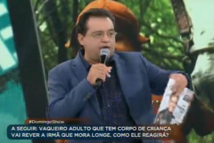 O apresentador Geraldo Luis elogia a Revista Vulque e Claudemir Spyver em seu programa