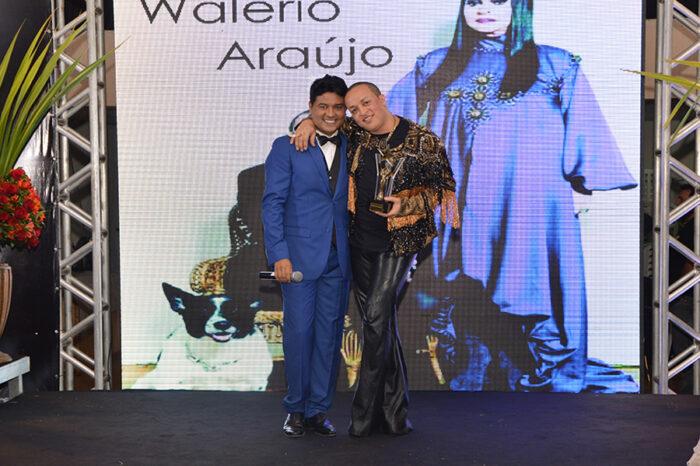 Claudemir Spyver e Walerio Araujo no prêmio Vulque melhores do ano