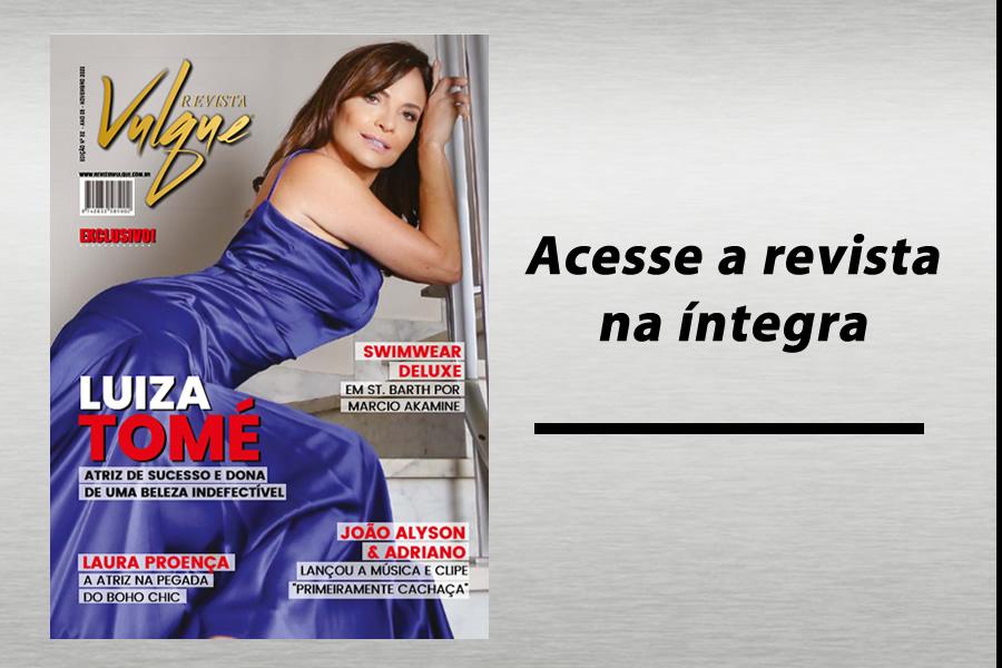 Edição de Novembro - Luiza Tomé