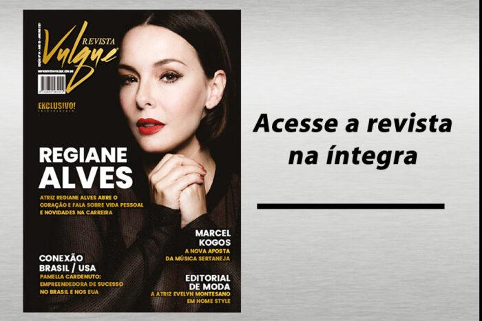 Edição de Janeiro - Regiane Alves