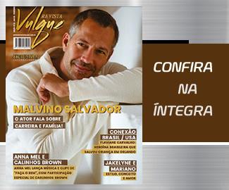 Edição de Fevereiro - Malvino Salvador